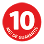 10 years guarantee icon